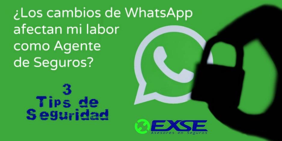 ¿Los cambios de WhatsApp afectan mi labor como Agente de Seguros?