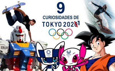 9 Curiosidades de los Juegos Olímpicos Tokyo2021
